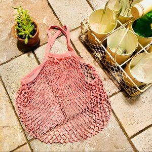 Handbags - ♻️FRENCH MARKET ECO COTTON NET-SHORT HANDLE BAG♻️